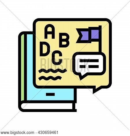 Cultural History Color Icon Vector. Cultural History Sign. Isolated Symbol Illustration