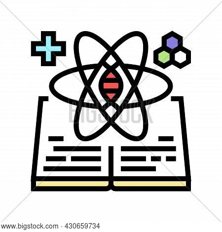 Science And Medicine History Color Icon Vector. Science And Medicine History Sign. Isolated Symbol I