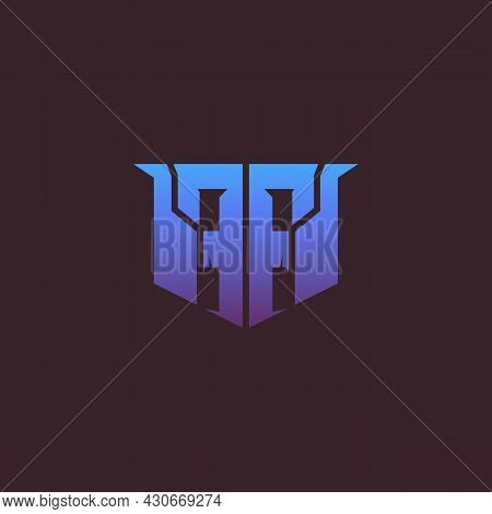 Stock Logo Based On Double F, Simple Modern. Can Be Used As A Sports Or Esport Logo, Clothing Logo O