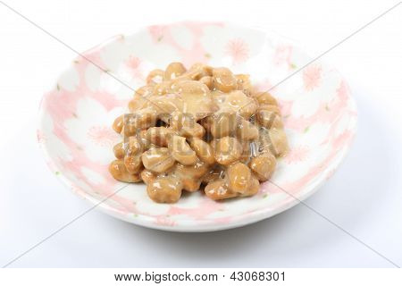 Japanese food of natto