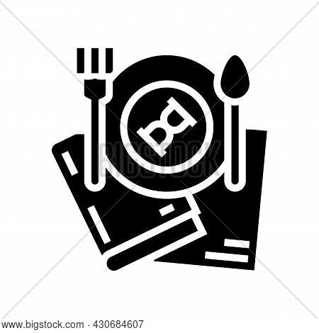 Food History Glyph Icon Vector. Food History Sign. Isolated Contour Symbol Black Illustration
