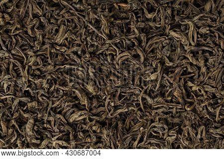 Loose Tea Isolated On White Background. Dried Tea Leaves.