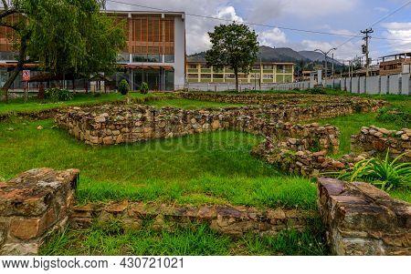 The Inca Ruins Walls Of The
