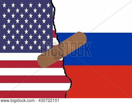 Restoring Relations Between Usa And Russia. A Plaster That Binds The Crack In Relations.