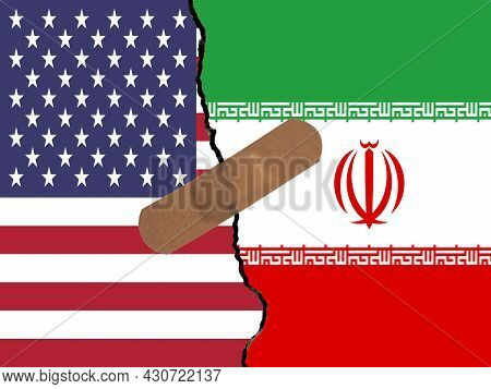 Restoring Relations Between Usa And Iran. A Plaster That Binds The Crack In Relations.
