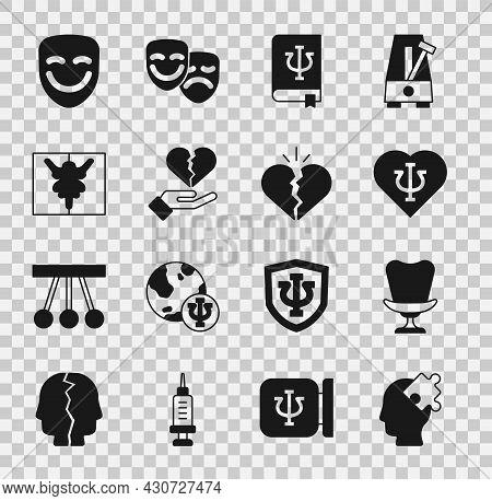Set Solution To The Problem, Armchair, Psychology, Psi, Book, , Broken Heart Or Divorce, Rorschach T