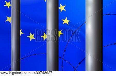 Prison, Jail In Eu, Background. Oppressive, Repressive Penal System Of Detention European Union, Imp