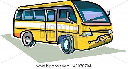 Medium Sized Bus