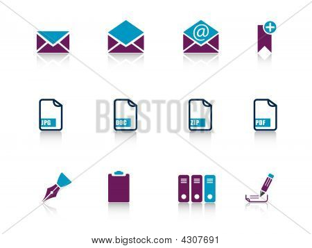 Web Icons Purple Series 4..web