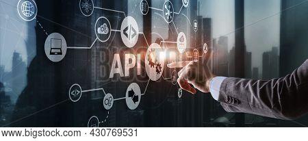 Application Programming Interface. Api Software Development Tool. Information Technology Concept. Bu