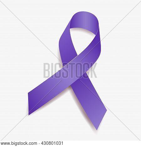 Purple Ribbon Awareness Alzheimers Disease, Chronic Pain, Cystic Fibrosis, Domestic Violence, Epilep