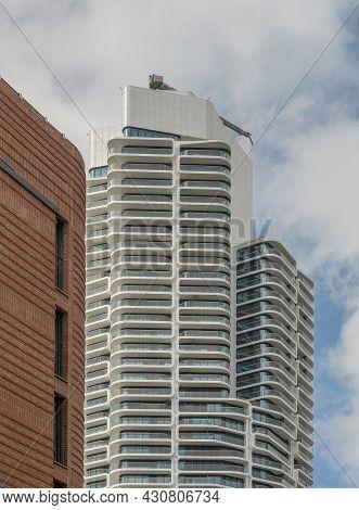 Grand Tower Residential Skyscraper, Frankfurt Am Main, Germany