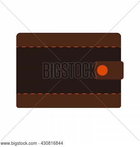Wallet Icon Finance Money Vector Business Illustration Symbol. Shopping Purse Wallet Sign Bank Payme
