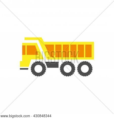 Truck Icon Simple Sign. Truck Cartoon Vector Illustration. Truck Design. Truck Isolate On White Back