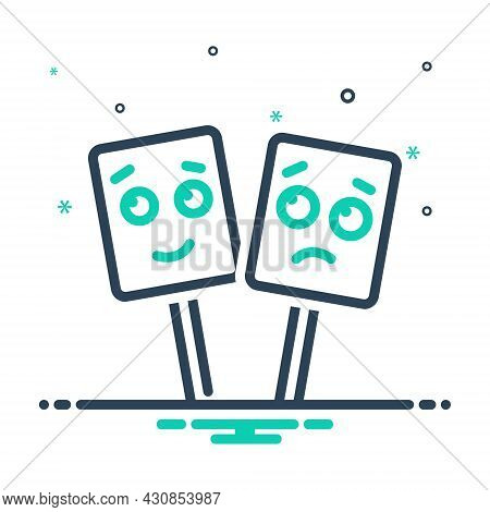 Mix Icon For Emotional Sentimental Mushy Gooey Lackadaisical Slobbery Weeping Happy Emoji