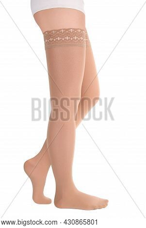 Compression Hosiery. Medical Stockings, Tights, Socks, Calves And Sleeves For Varicose Veins And Ven
