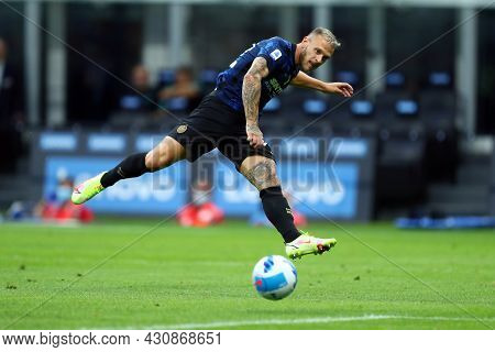 Milano, 21 August 2021. Domenico Criscito Of Genoa Cfc  In Action During The Serie A Match Between F
