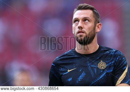 Milano, 21 August 2021. Stefan De Vrij Of Fc Internazionale  During The Serie A Match Between Fc Int