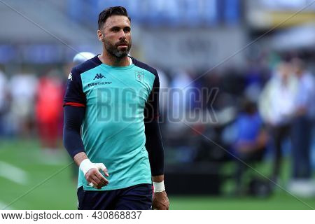 Milano, 21 August 2021. Salvatore Sirigu Of Genoa Cfc  Looks On During The Serie A Match Between Fc