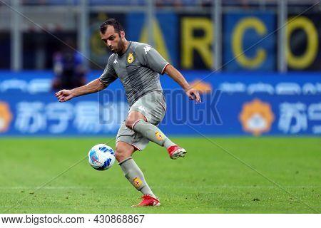 Milano, 21 August 2021. Goran Pandev Of Genoa Cfc   During The Serie A Match Between Fc Internaziona