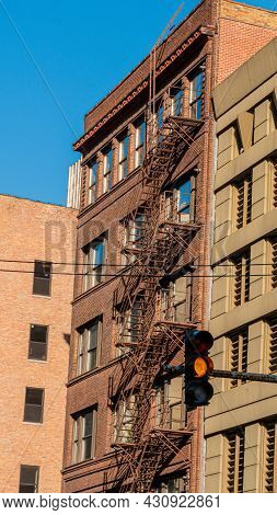 Rescue Ladders In Chicago - Chicago, Illinois - June 12, 2019