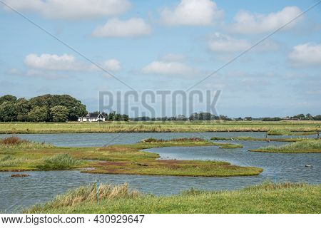 Texel, The Netherlands. August 13, 2021. Landscape Of The Island Texel, North Holland.