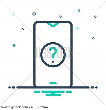 Mix Icon For Why Question Mark Ask Help About-us Query Mobile
