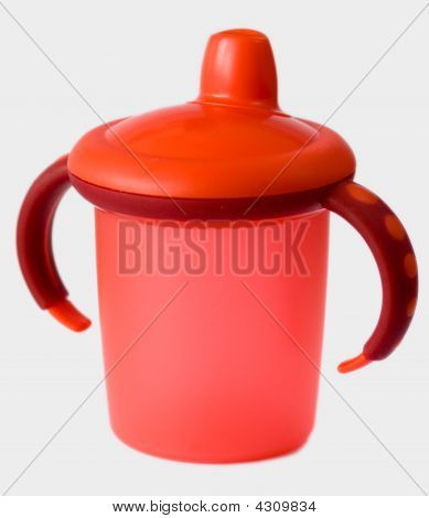 Red Baby Sip Cup