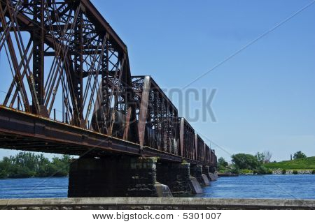 Train Over Bridge
