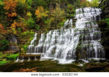 Autumn Waterfall