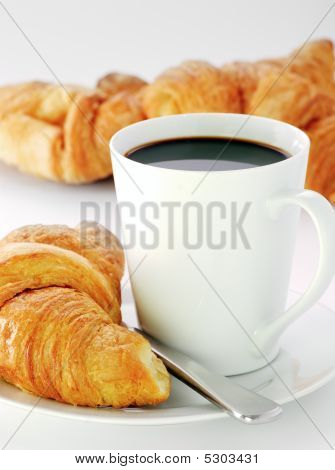 Mug And Croissants