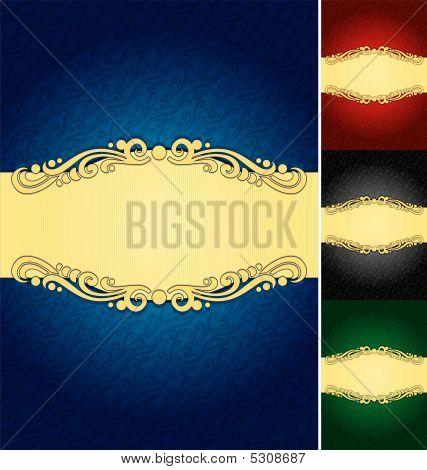 Elegant Label Background (vector)