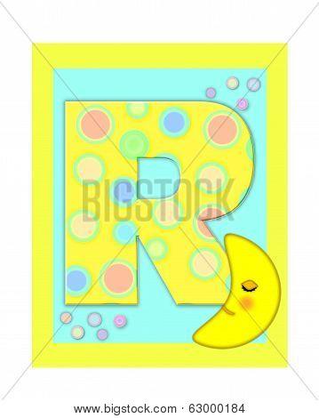 Alphabet Sweet Dreams R