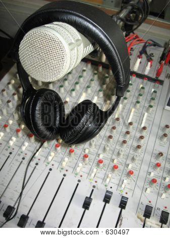 Microphone On Headphones