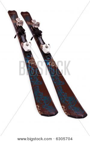 Pair Of Mountain Skis
