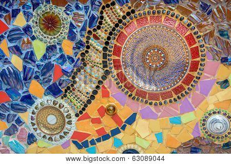 Thai mosaic ceramic