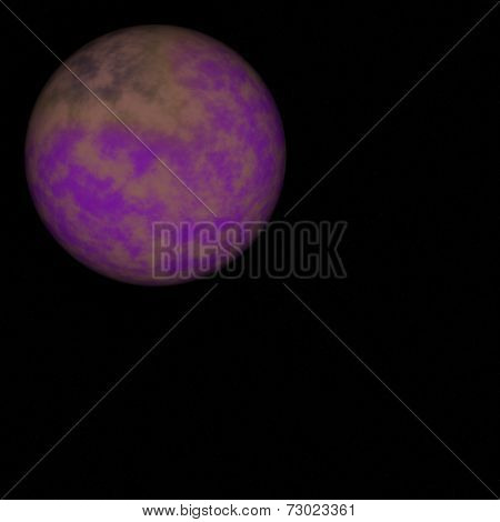 Alien planet - Far away in outer space