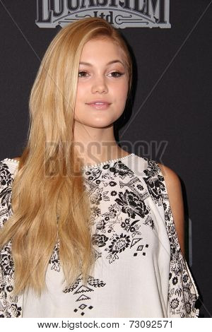 LOS ANGELES - SEP 27:  Olivia Holt at the