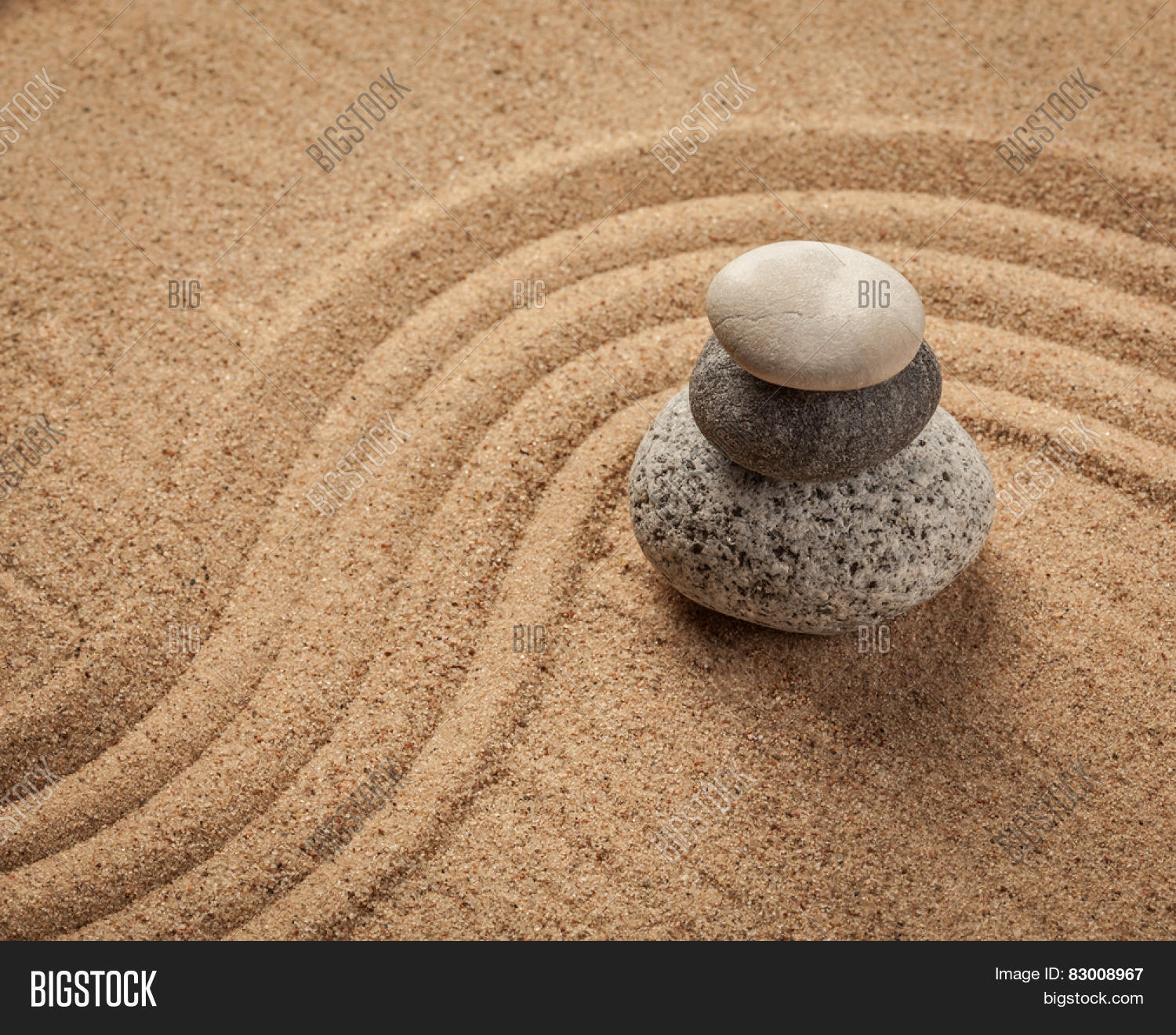 Japanese Zen Stone Image & Photo (Free Trial) | Bigstock
