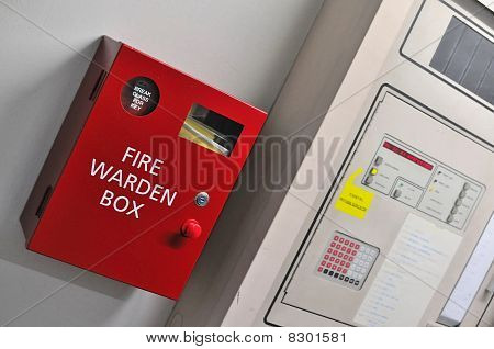 Fire Warden Box