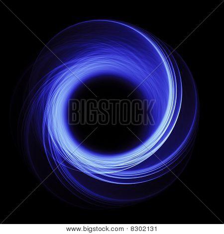 Black Hole On Chaos Blue Rays