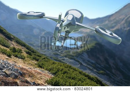 Unmanned Aerial Vehicle Drone