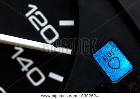 Speed indicator