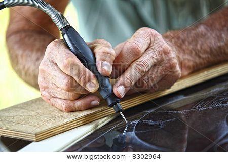 Craftman At Work Detail