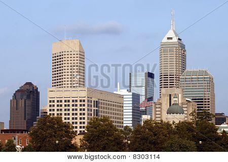 Indianapolis Skyline
