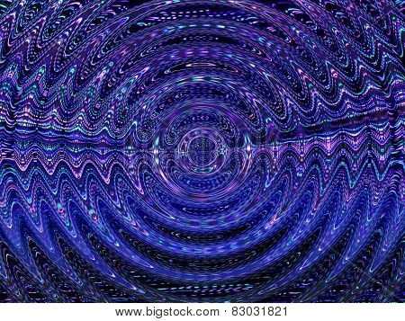 Magnetic field, Electromagnetism like ripple abstract.