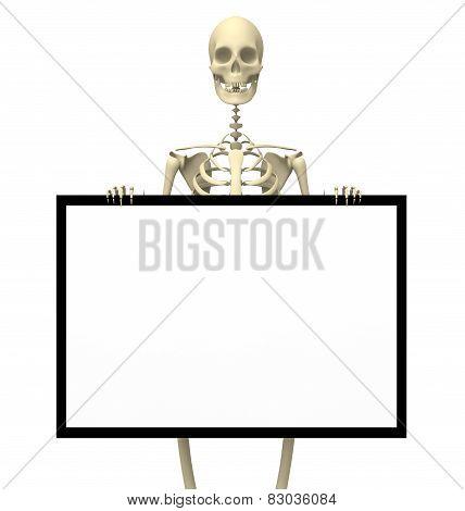 Skeleton Sign One