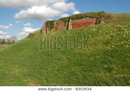 Basing House wall
