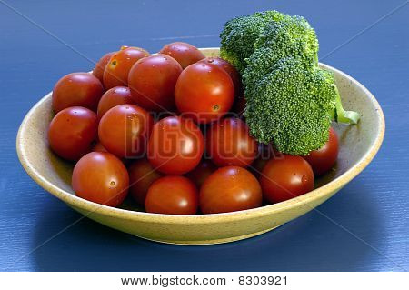 tomatoes and broccolli