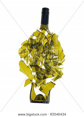 Broken Wine Bottle